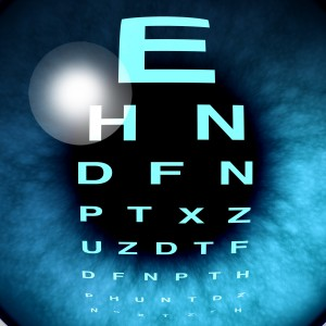 מספרים לבדיקת עיניים